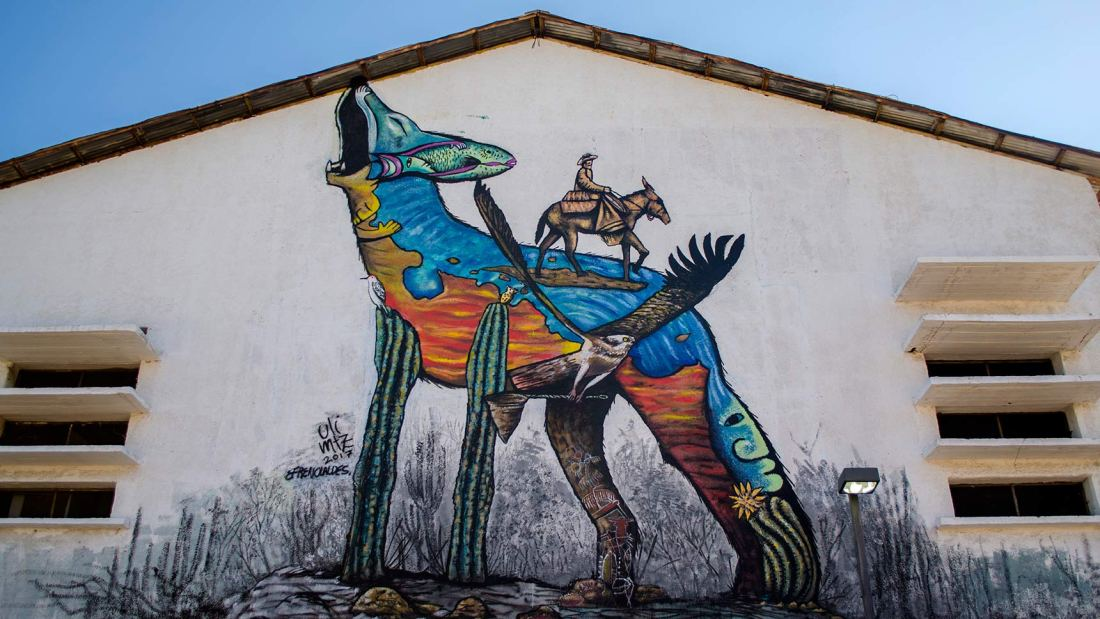 Ciudad Mural La Paz