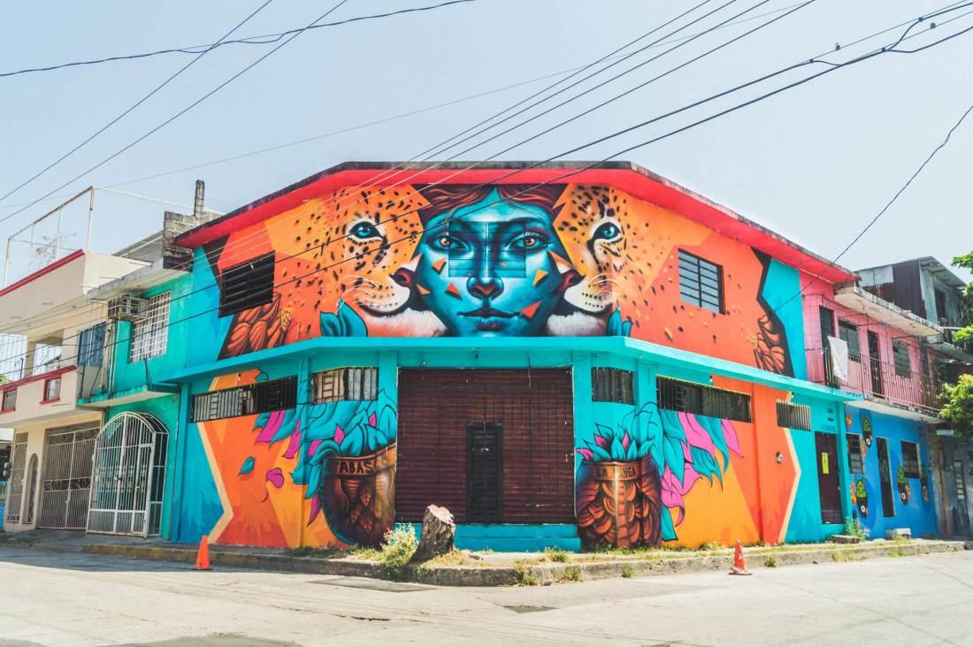 Ciudad Mural Villahermosa
